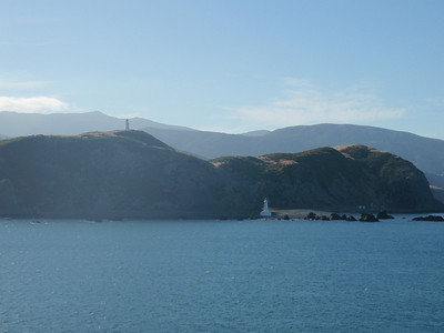 Ferry across Cook Straight/Picton