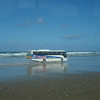 you could only get to the end of the 90-mile beach at low tide through a bus tour