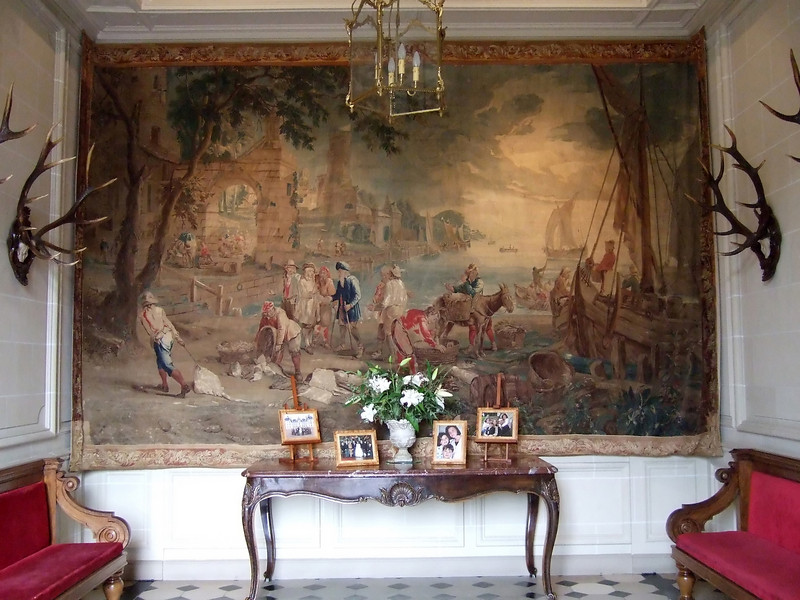Wall Tapestry at Chateau de Cheverny
