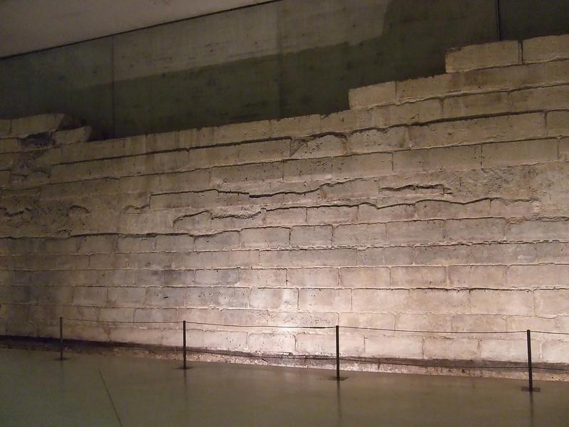 Foundation Stones of the Original Louvre Castle