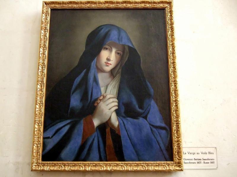 La Vierge au Voile Bleu in Chenonceau