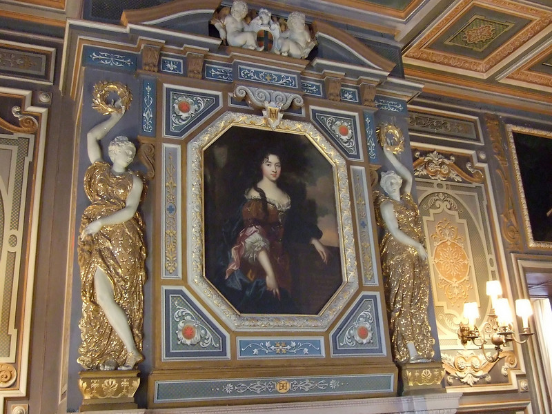Painting at Chateau de Cheverny
