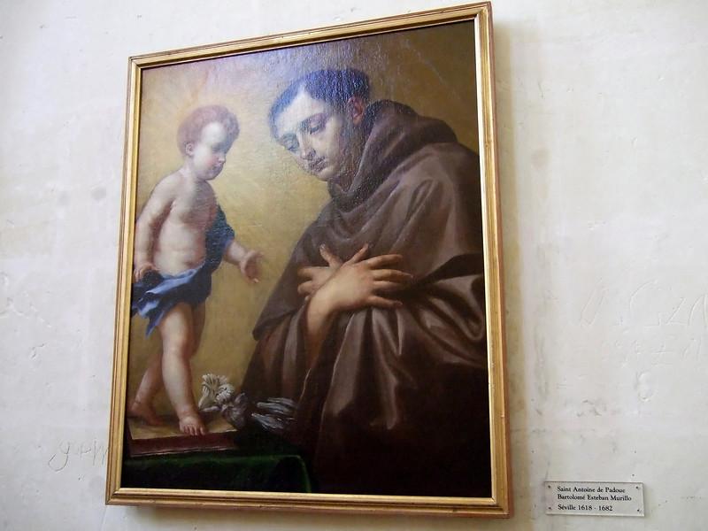 Saint Antoine de Padoue Bartolome Esteban Murillo  1618 - 1682