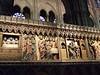 Detail inside Notre-Dame Cathedral