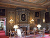 Ornate sitting room at Chateau de Cheverny