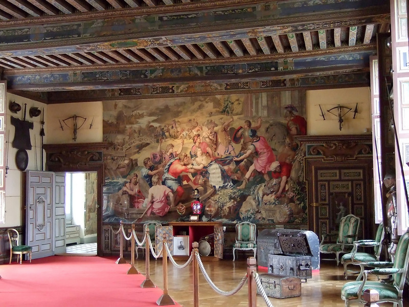 a room in the Chateau de Cheverny