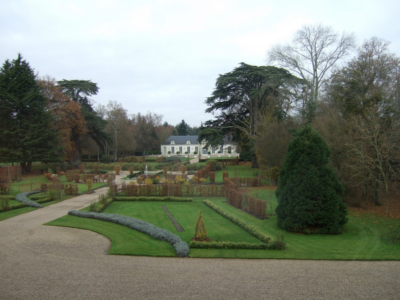 On the grounds at Chateau de Cheverny