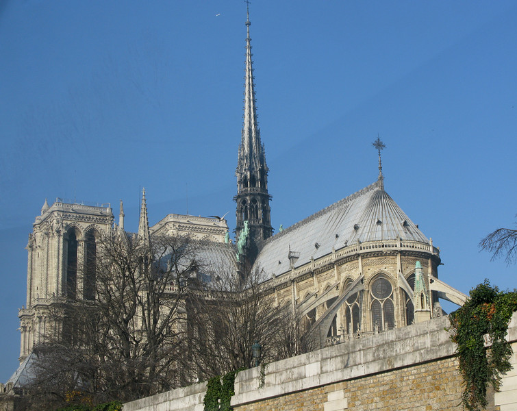 Notre Dame Cathedral fron the Siene