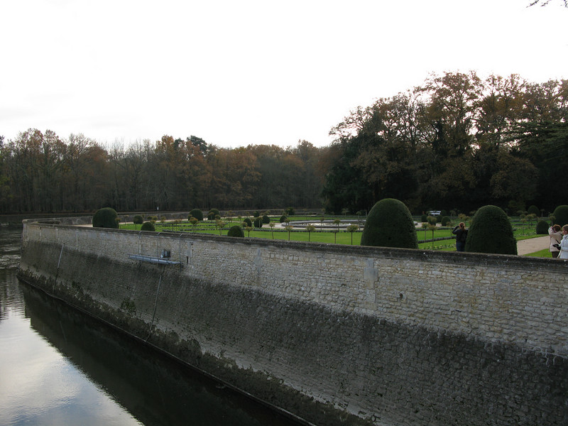 The grounds at Chenonceau Chateau