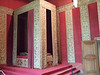 A bedroom in the Chateau de Chambord