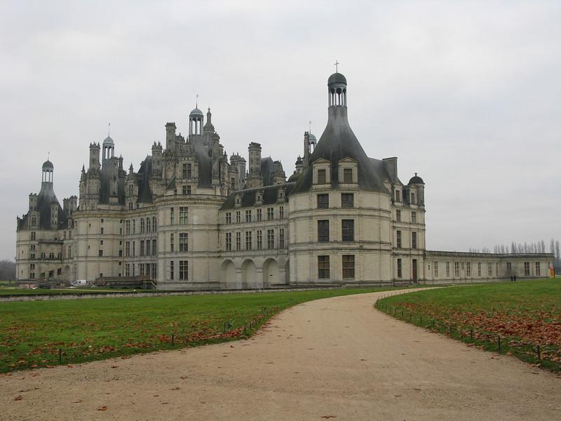 Chateau de Chambord circa 1519
