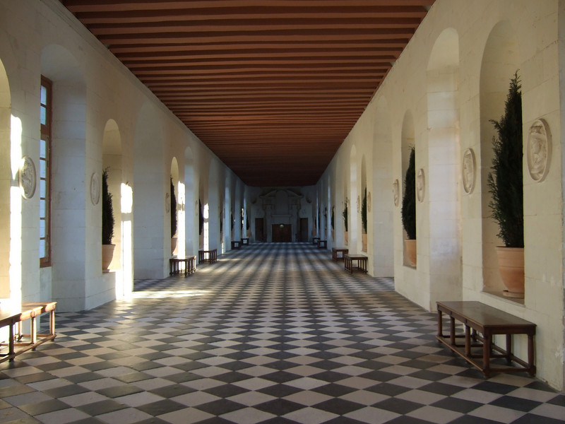 Main room in Chateau Chenonceau