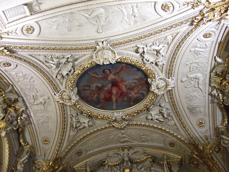 A ceiling at the Louvre