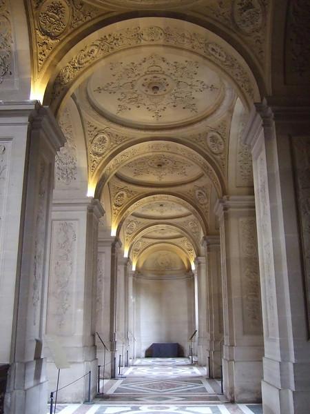 Hallway inside Versailles