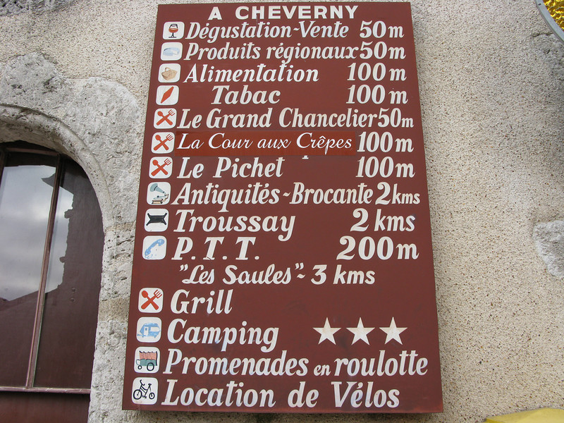 Entrance charges to the Chateau de Cheverny