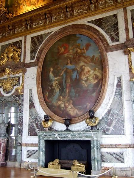 Artwork inside Versailles