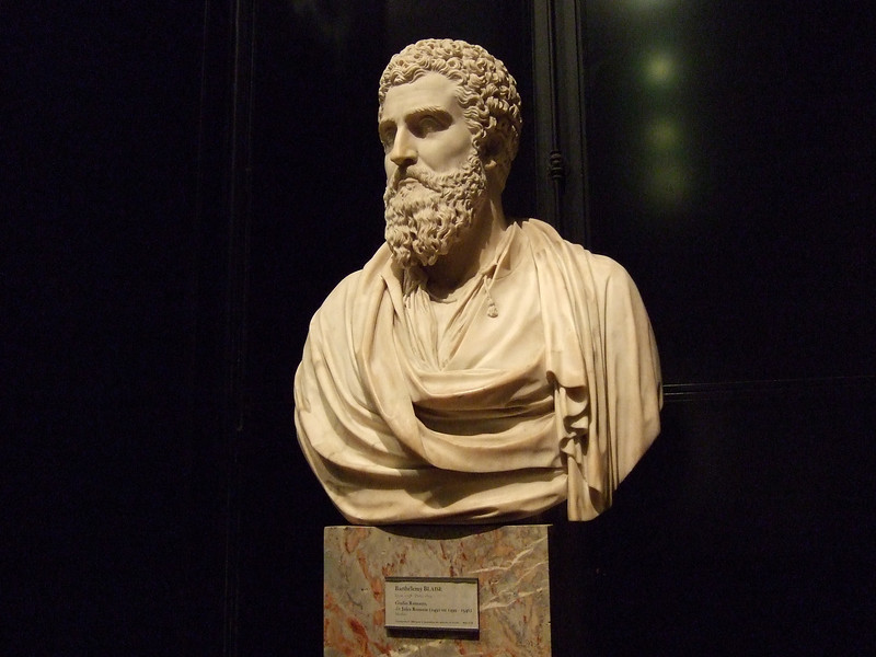 Barthelemy Blaise bust at the Louvre