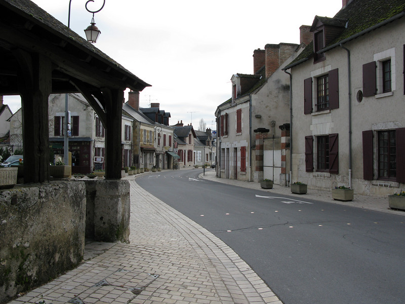 The streets at Cheverny