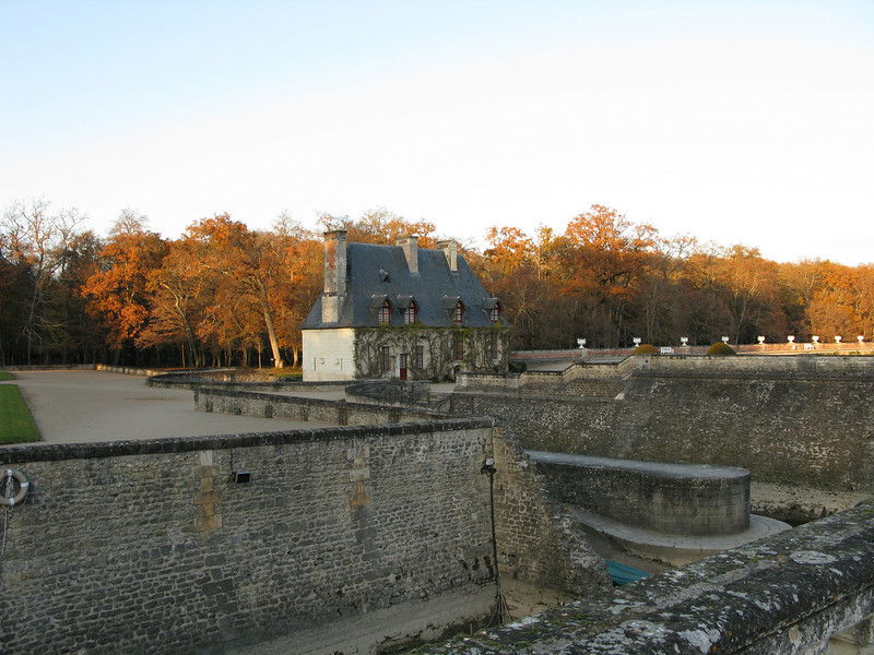 Grounds at the Chateau Chenonceau