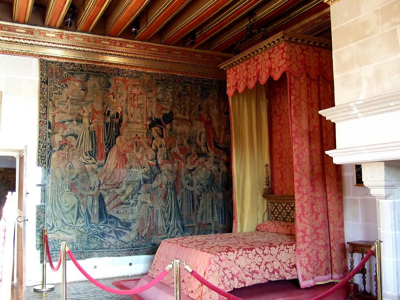 Bedroom at Chateau Chenonceau