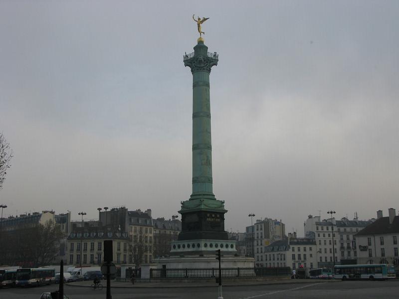 Colonne de Juillette - Bastille Commemorative 1789 French Revolution