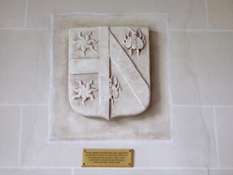 Coat of Arms at Cheverny circa 1527 - 1599
