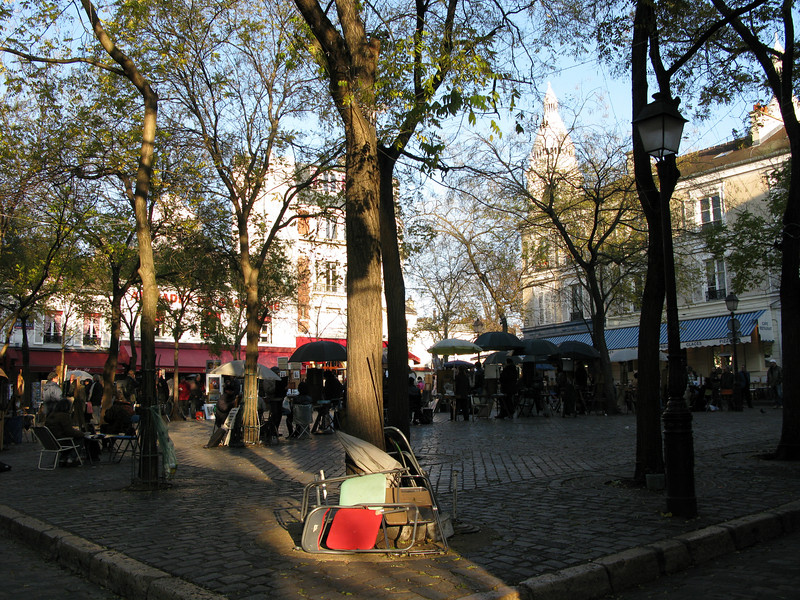Artist Plaza at Montmarte