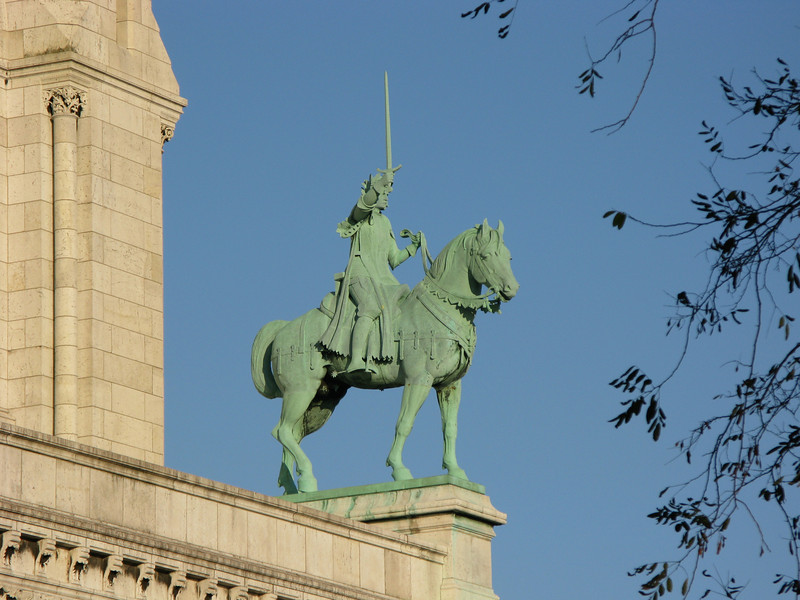 Napolean on his horse - Sacred Heart Chuch at Montmarte