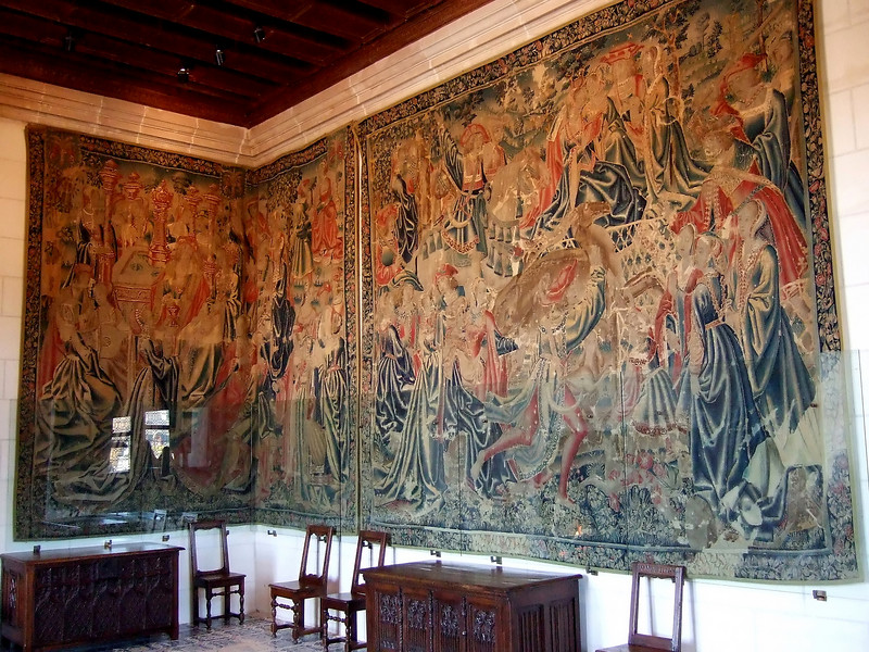 Wall Tapestries at Chateau Chenonceau