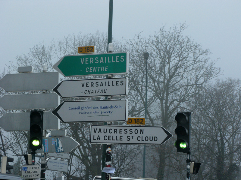 The Road to Versailles