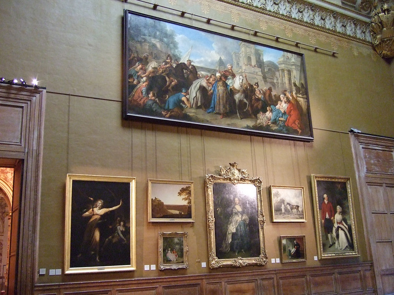 Various Art Works on Display at the Louvre