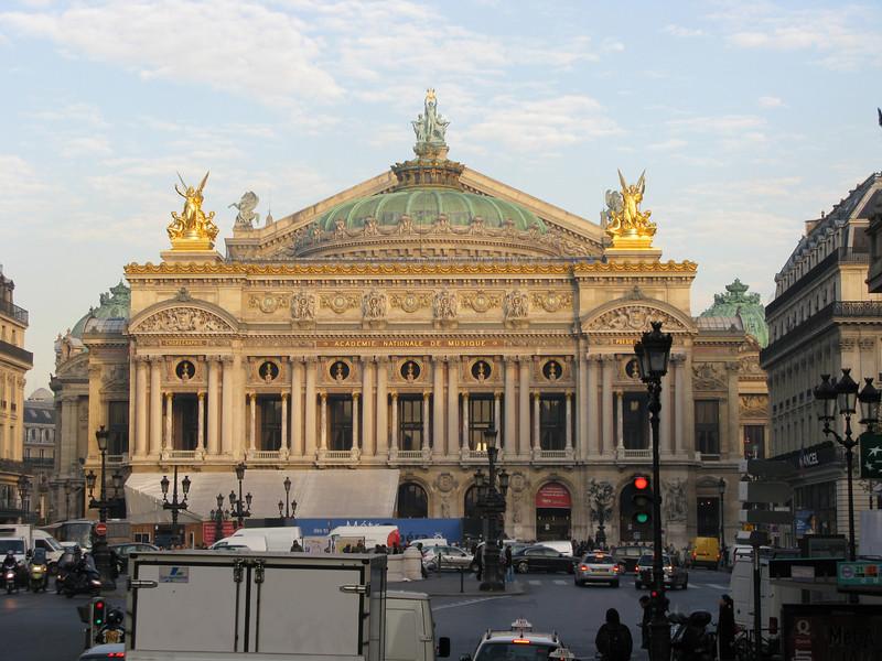 The Opera in Paris