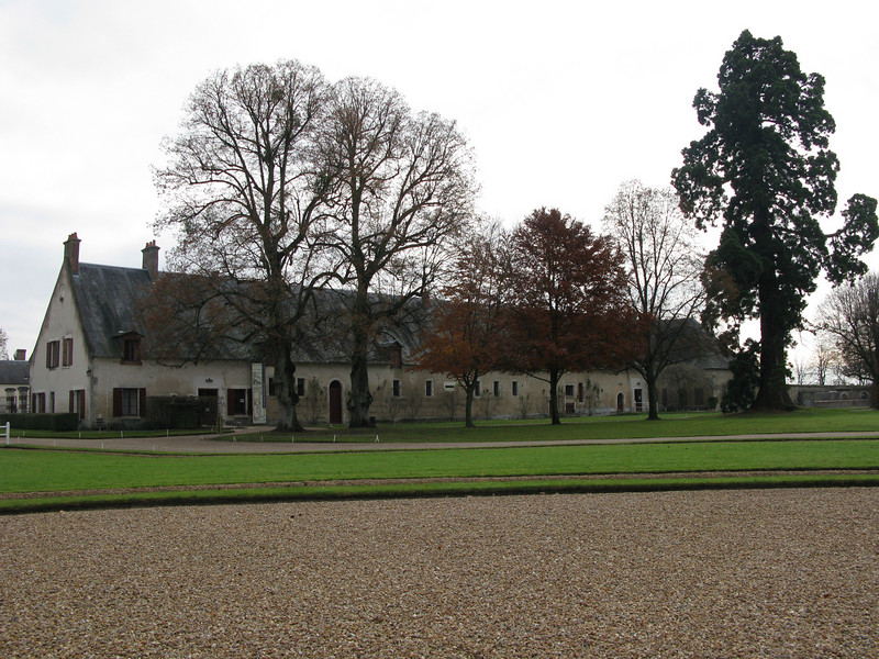 Stables at Cheverny with Hunting Dog Pens at the rear