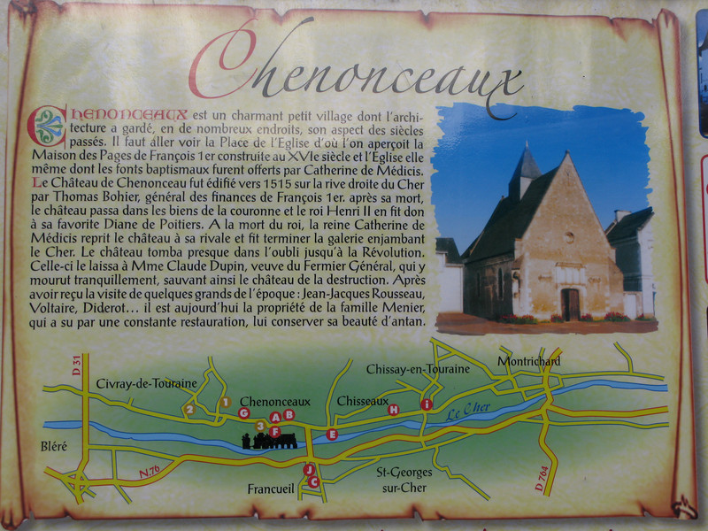 The Chateau of Chenonceaux