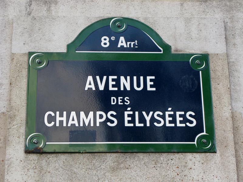 Champs des Elysees