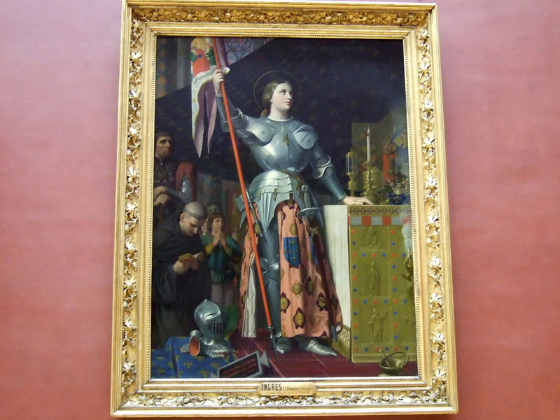 Painting by Ingres at the Louvre