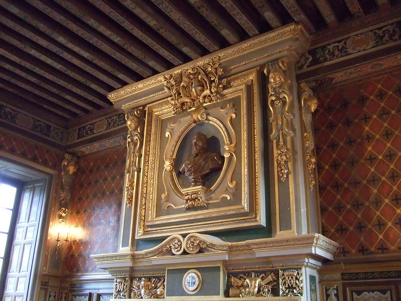 Over the Mantle at Chateau Cheverny