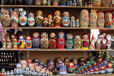 Matryoshki for sale - Saint Petersburg, Russia ... May 27, 2009 ... Photo by Emily Page