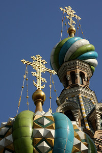 Church of the Savior on Spilled Blood.  The name refers to the blood of the assassinated Alexander II of Russia, who was mortally wounded on that site on March 13, 1881 - Saint Petersburg, Russia ... May 27, 2009 ... Photo by Rob Page III