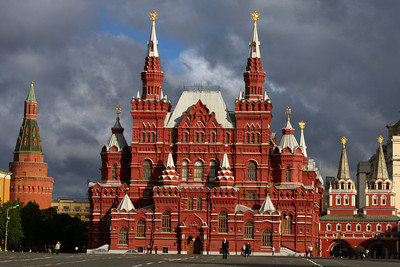 The State Historical Museum - Moscow, Russia ... May 25, 2009 ... Photo by Rob Page III