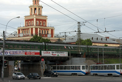 The streets of Moscow near Kazansky Station - Moscow, Russia ... May 25, 2009 ... Photo by Rob Page III