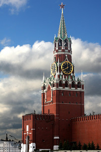 The Spasskaya Tower - Moscow, Russia ... May 25, 2009 ... Photo by Rob Page III