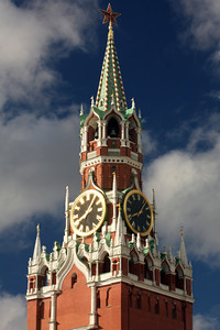 Spasskaya Tower - Moscow, Russia ... May 25, 2009 ... Photo by Rob Page III