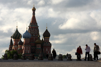 St. Basil's Cathedral with Red Square in the foreground - Moscow, Russia ... May 25, 2009 ... Photo by Rob Page III