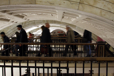 One of the passageways in the Moscow Metro system - Moscow, Russia ... May 25, 2009 ... Photo by Rob Page III