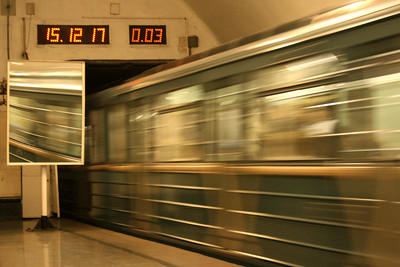 Inside the Moscow Metro - Moscow, Russia ... May 25, 2009 ... Photo by Rob Page III
