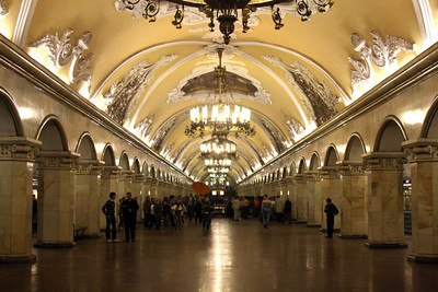Komsomolskaya Metro Station - Moscow, Russia ... May 25, 2009 ... Photo by Rob Page III