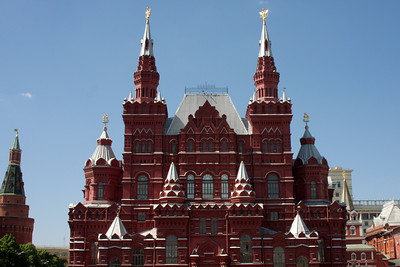 State Historical Museum.  The State Historical Museum of Russia is a museum of Russian history wedged between Red Square and Manege Square in Moscow - Moscow, Russia ... May 30, 2009 ... Photo by Rob Page III