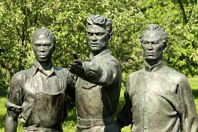 The Fallen Monument Park - Moscow, Russia ... May 30, 2009 ... Photo by Rob Page III
