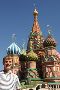 Rob and St. Basil's Cathedral - Moscow, Russia ... May 30, 2009 ... Photo by Emily Page